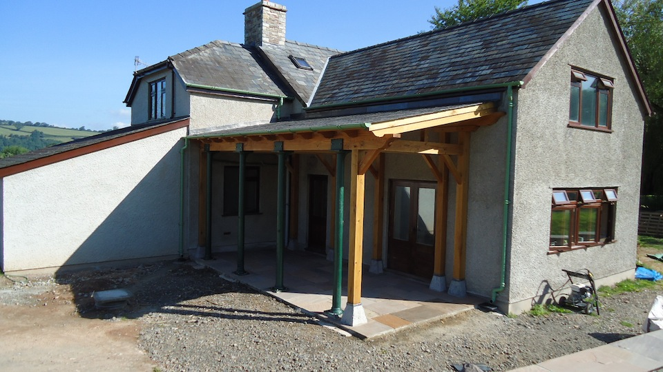 Loggia wye joinery for Garden loggia designs